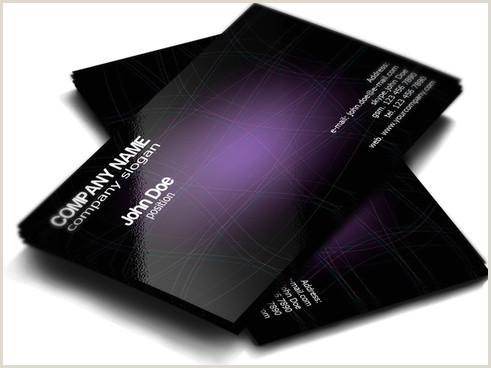 Personal Business Card Templates Personal Business Card Designs Free Vector 28 817