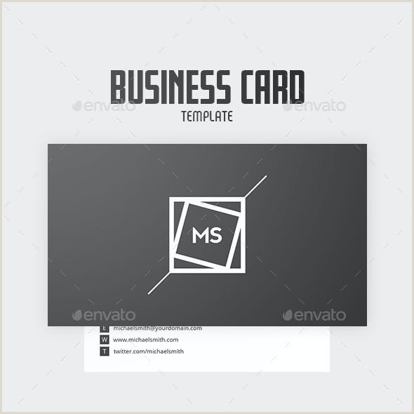 Personal Business Cards Template Personal Business Card Templates & Designs From Graphicriver