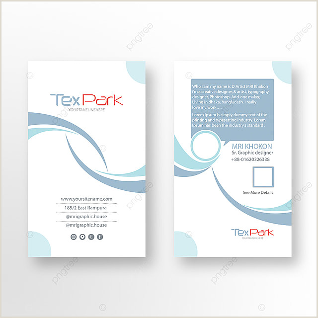 Personal Business Cards Template Personal Business Card Templates Psd 2 317 Design Templates