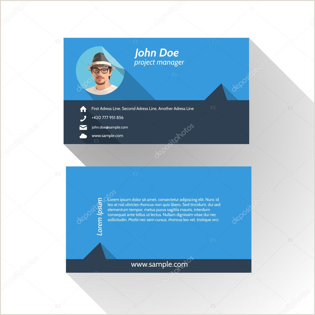 Personal Calling Card Designs ᐈ Calling Card Sample Design Stock Images Royalty Free
