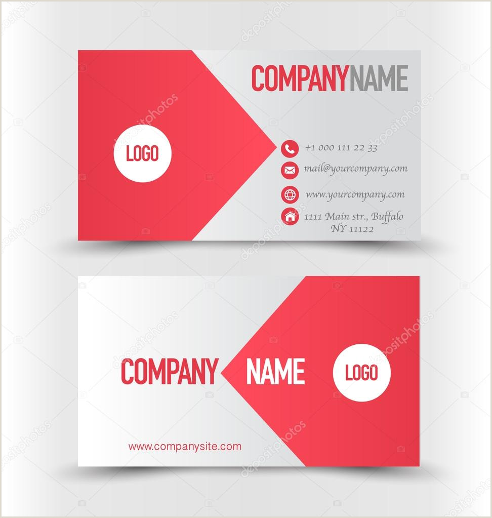 Personal Calling Cards Examples ᐈ Calling Card Sample Design Stock Images Royalty Free