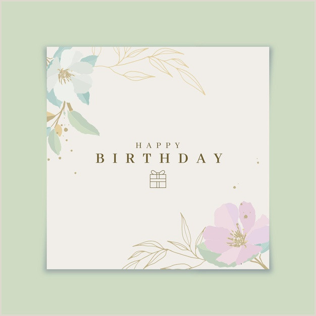 Personal Name Cards Birthday Card