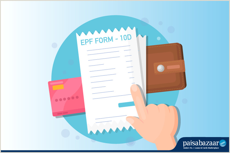 Personal Name Cards Epf Form 10d Instructions How To Download & Filling Procedure