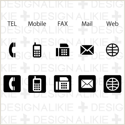 Phone Icon For Business Card 10 Business Card Icon For Phone Business Card Icons