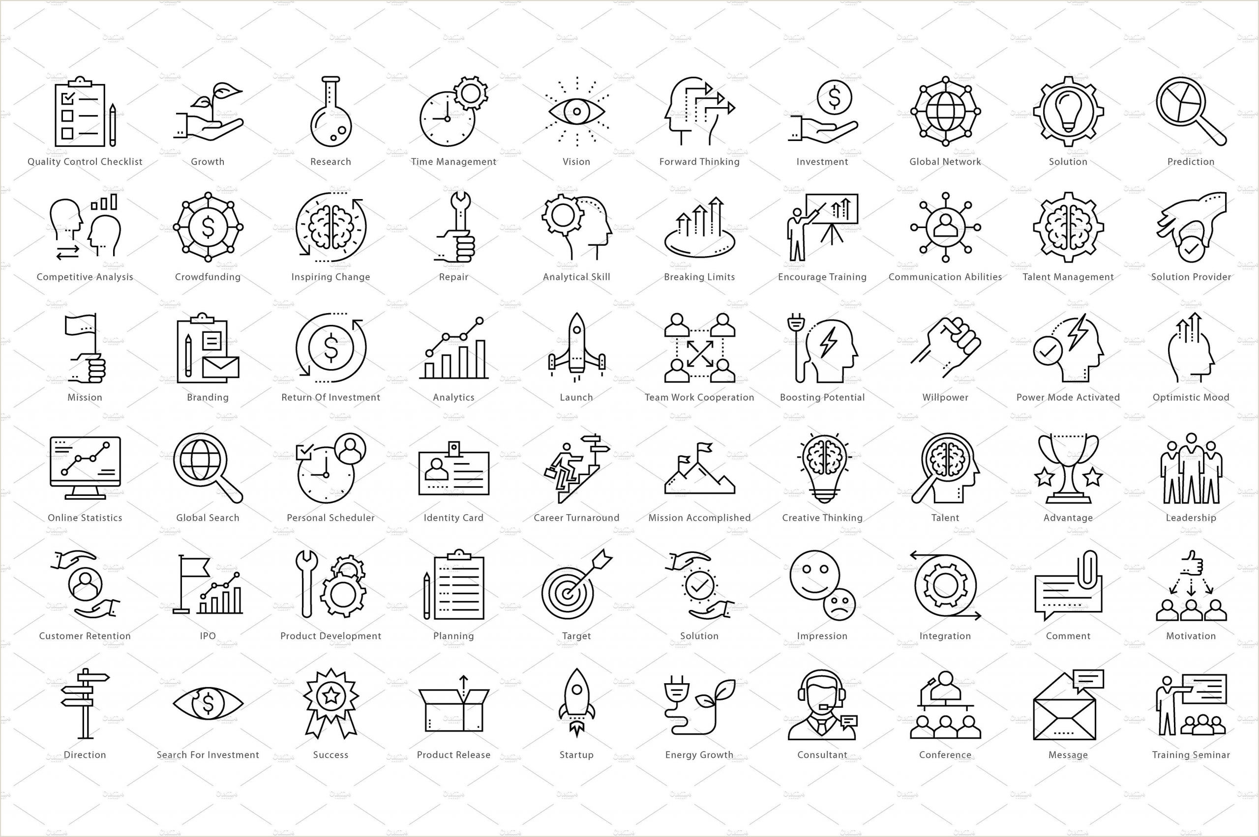 Phone Icon For Business Card 1270 Business Line Icons