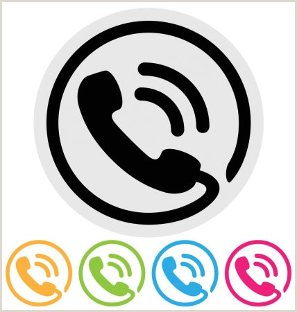 Phone Icon For Business Card ᐈ Phone For Business Card Stock Icon Royalty Free
