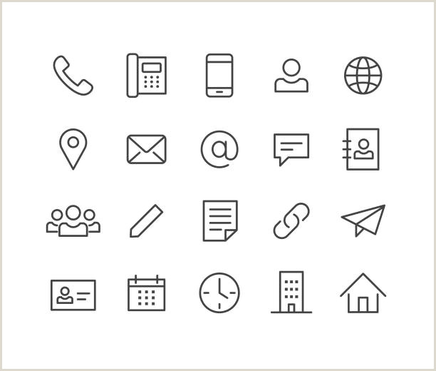 Phone Icon For Business Card Business Card Icons 1521 Free Vectors To Download