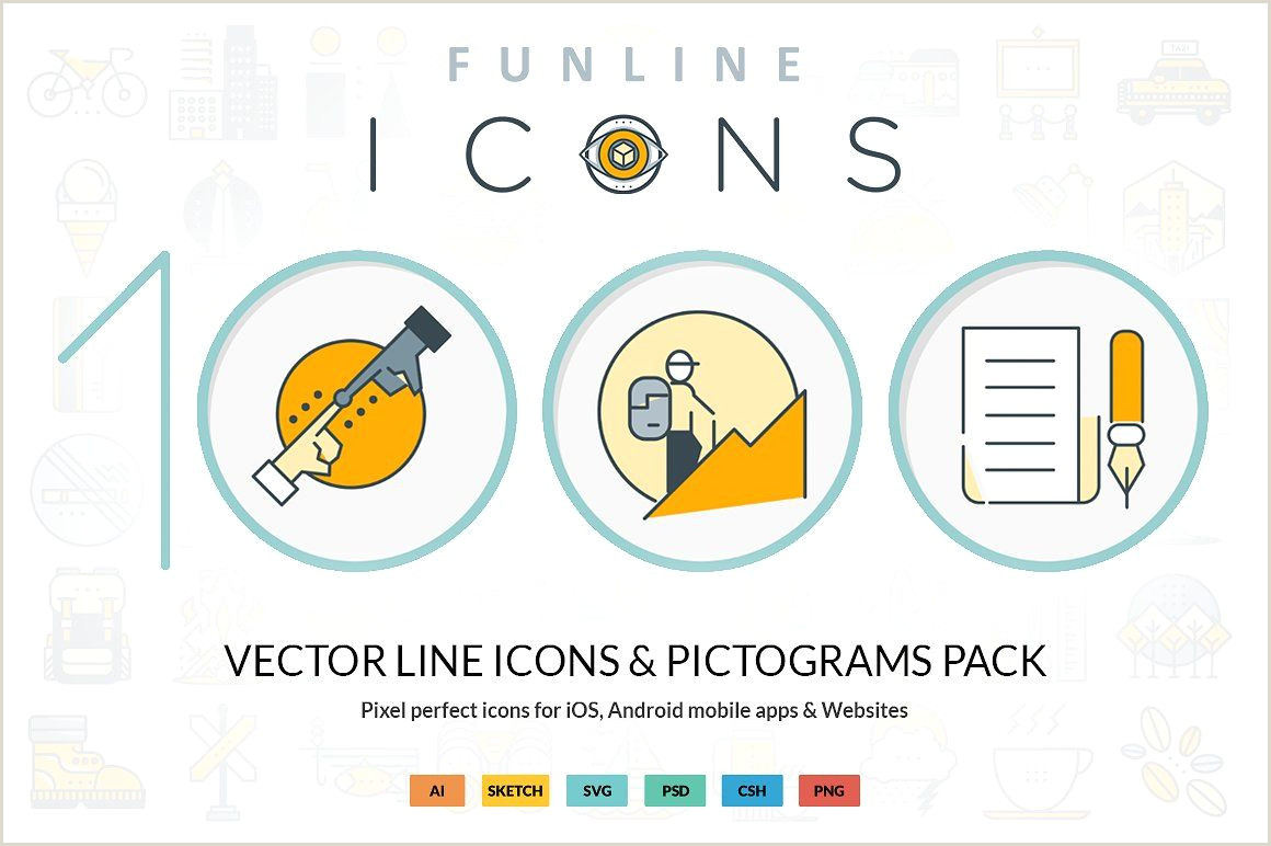 Phone Icon For Business Card Funline 1000 Icons Pack