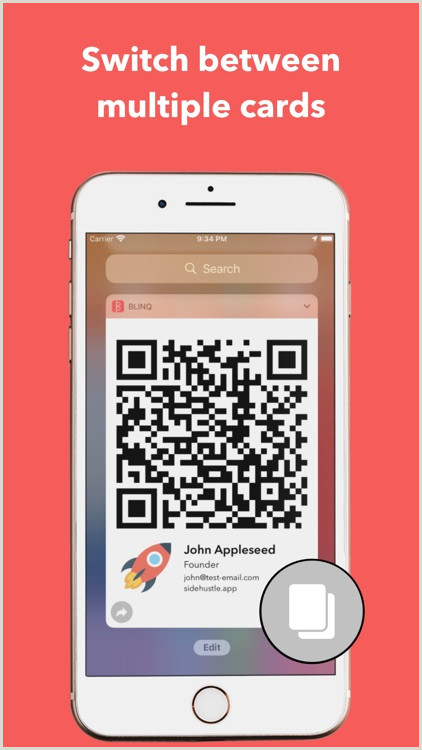 Phone Numbers On Business Cards Blinq Digital Business Cards By Rabbl Pty Ltd