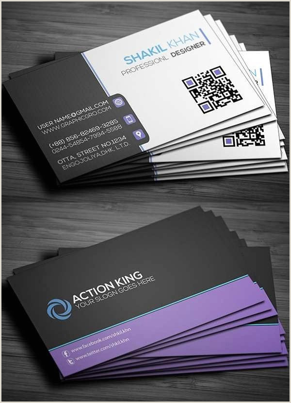 Photo On Business Card Business Card Ai Template Business Card Front And Back New
