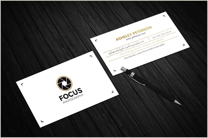 Photographer Business Card Examples 25 Best Graphy Business Card Designs 2019 Creative
