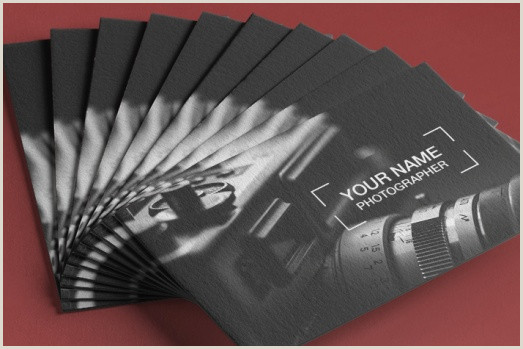 Photographer Business Cards Examples 18 Best Free Graphy Business Card Templates