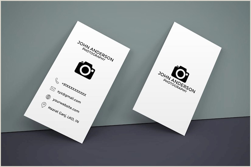 Photographer Business Cards Unique 50 Best Graphy Business Cards For Inspiration
