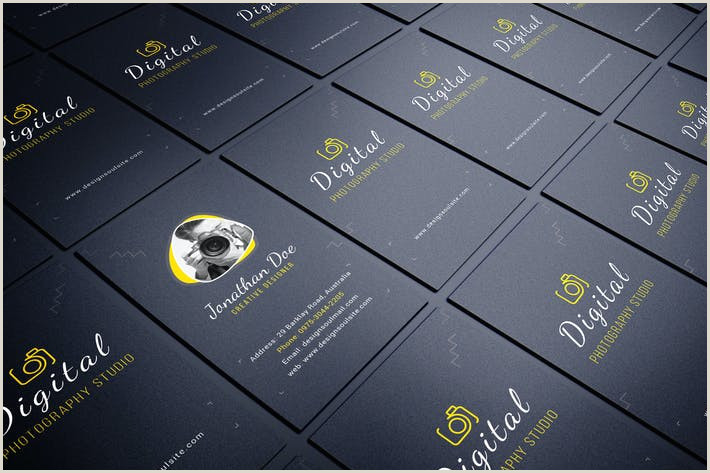 Photographer Business Cards Unique Graphy Business Card By Designsoul14 On Envato Elements