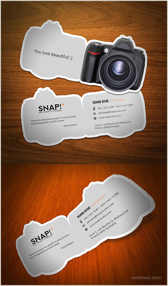 Photographer Business Cards Unique Unusual Graphy Business Card 20