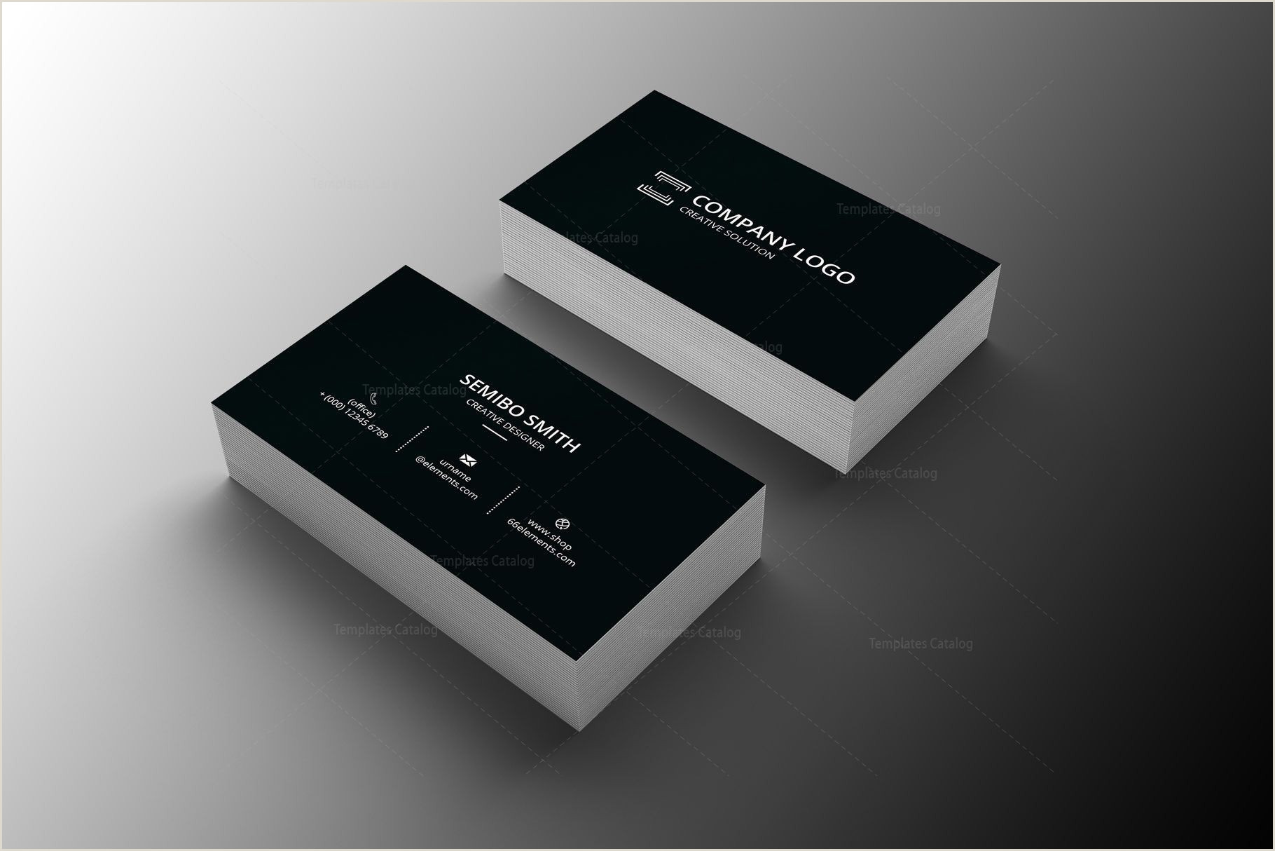 Photography Business Card Design Architect Minimal Business Card Design Graphic Templates
