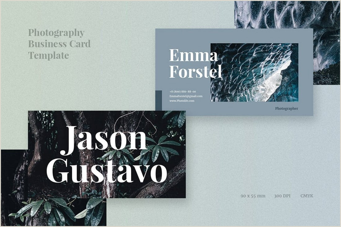 Photography Business Card Examples Graphy Business Cards 20 Templates & Ideas