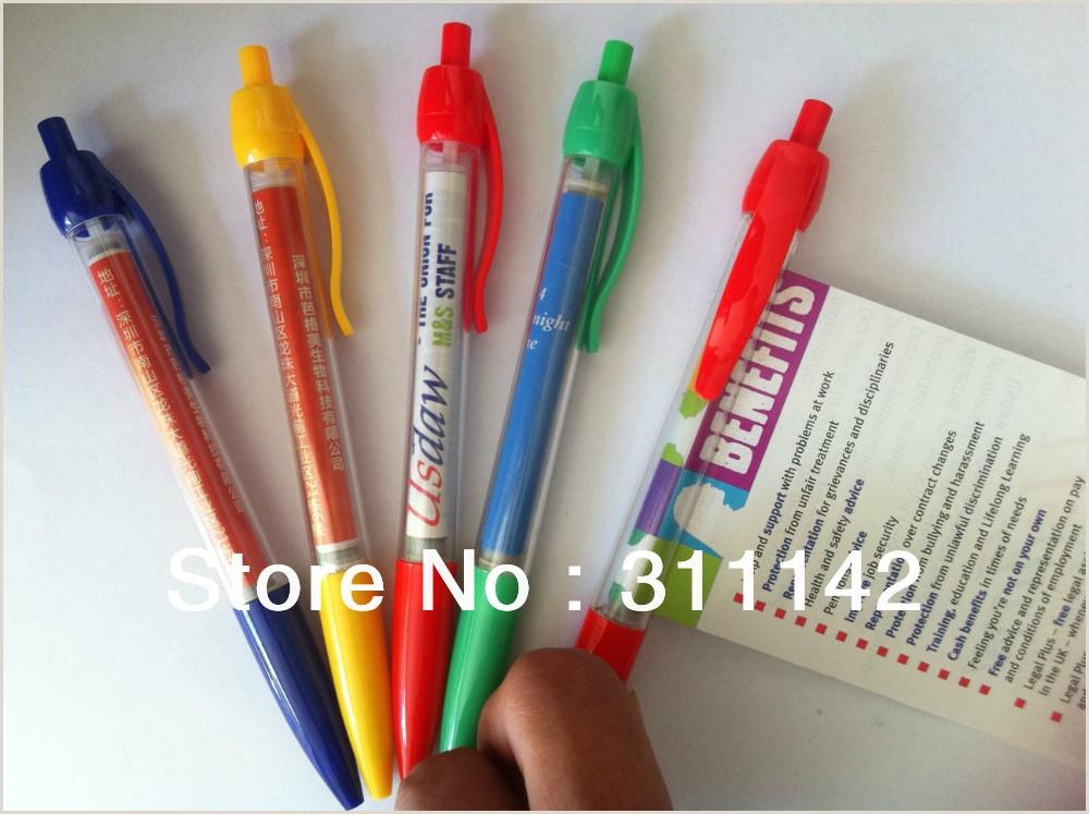 Plastic Banner Roll Factory Banner Pen Custom Advertising Flag Pen With Rolling