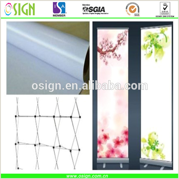 Plastic Banner Roll Pvc Plastic Material Digital Roll Up Banner Media Printing X Banner For Stand Display View Roll Up Banner Osign Product Details From Oriency Sign