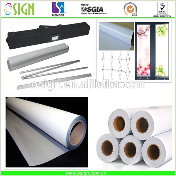 Plastic Roll Banners Pvc Plastic Material Digital Roll Up Banner Media Printing X Banner For Stand Display View Roll Up Banner Osign Product Details From Oriency Sign