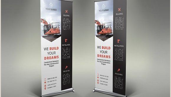 Plastic Roll Banners Roll Up Banner