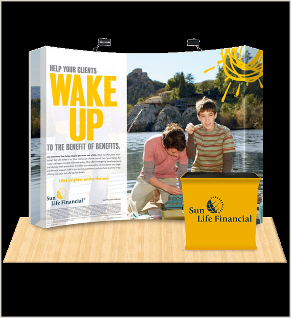 Pop Up Banner Canada 10×10 Display Booth Canada