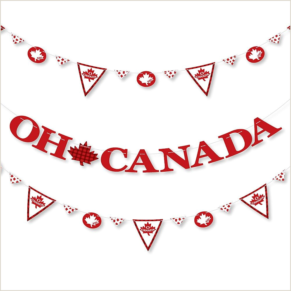 Pop Up Banner Canada Canada Day Canadian Party Letter Banner Decoration 36 Banner Cutouts And Oh Canada Banner Letters