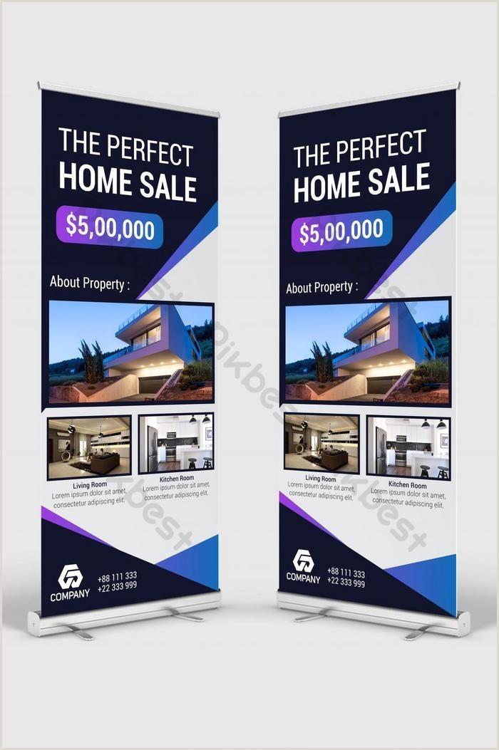 Pop Up Banner Canada Real Estate Roll Up Banner & Banner Stand Design
