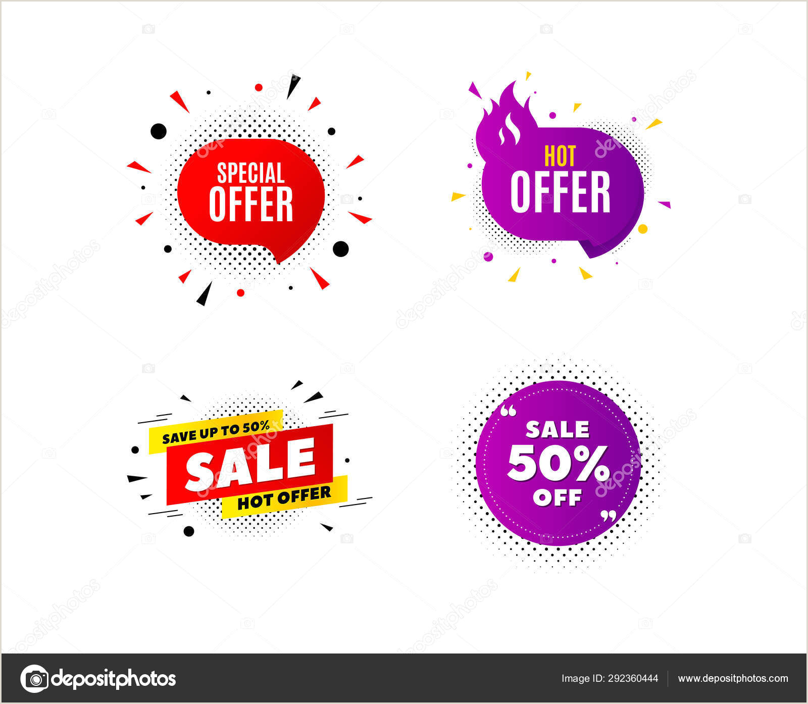 Pop Up Banner Coupon Banner Badge Special Offer Discount Tags Coupon Sale Shape Tem