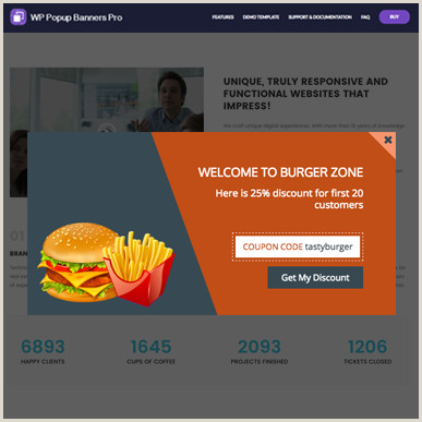 Pop Up Banner Coupon Coupon Popup 5 – Wp Popup Banners Pro