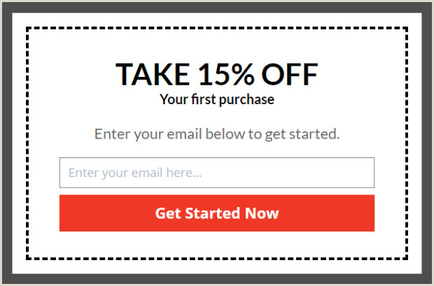 Pop Up Banner Coupon How To Make Popup Coupon Promotions That Really Drive Sales