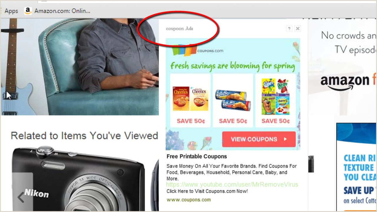 Pop Up Banner Coupon How To Remove Ads By Coupoon Popup Virus Coupon Ads Removal Guide