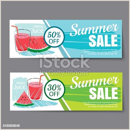 Pop Up Banner Coupon Summer Sale Voucher Template Discount Coupon Banner Hand