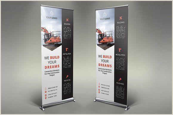 Pop Up Banner Design Construction Roll Up Banner