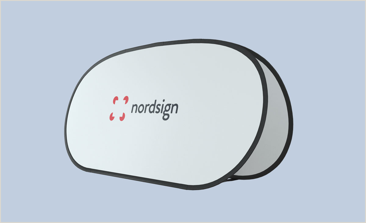Pop Up Banner Dimensions Pop Out Banner Nordsign