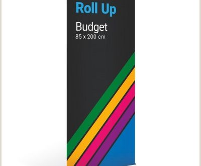 Pop Up Banner Dimensions Roll Up Bud