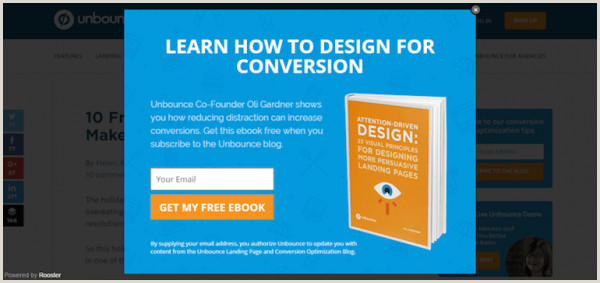 Pop Up Banner Examples 25 Examples Why We Love Popups And You Should Too