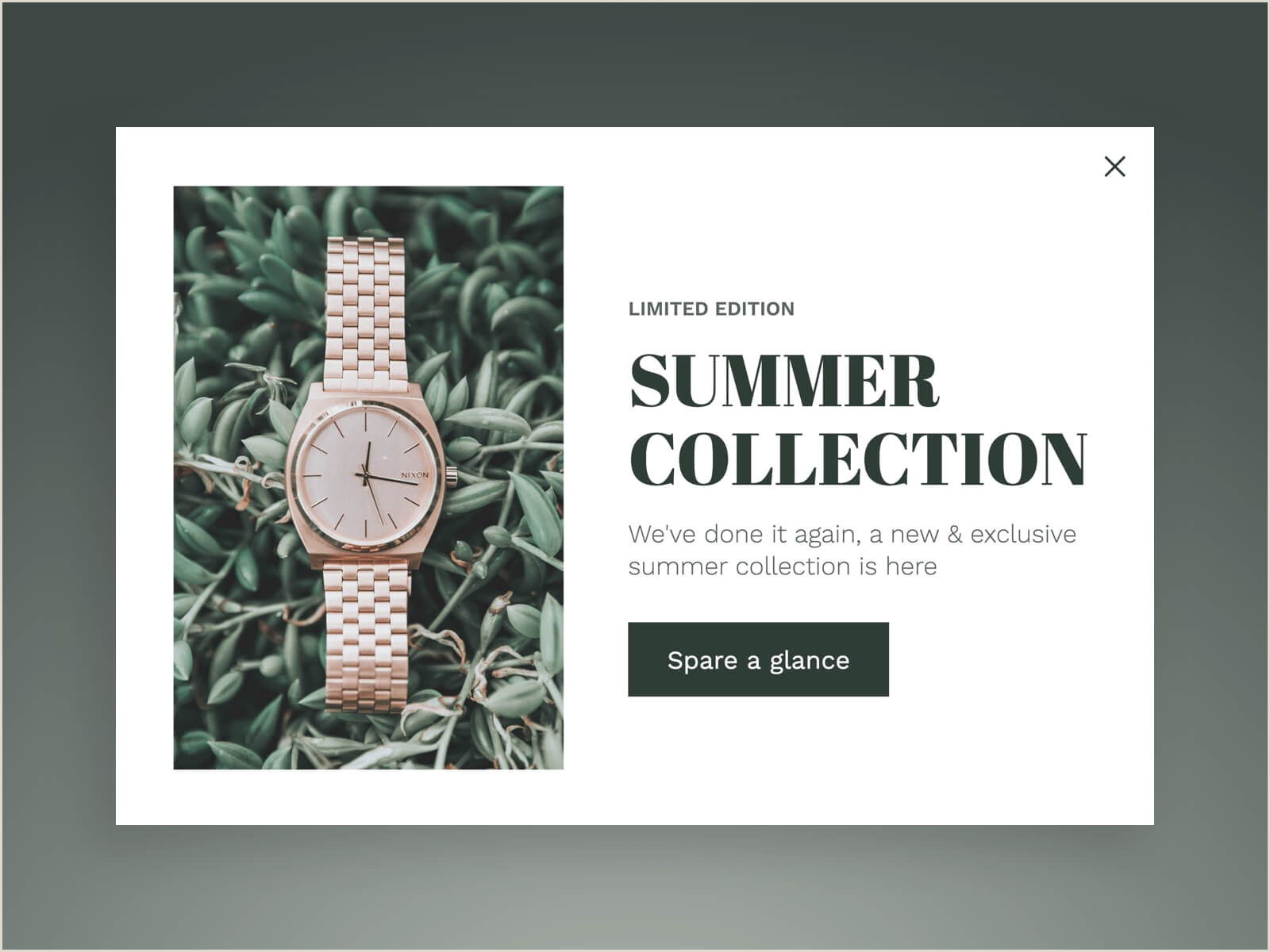 Pop Up Banner Examples 28 Examples Of Highly Converting Popup Designs With The