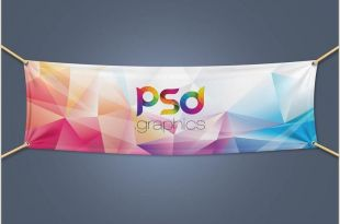 Pop Up Banner Mock Up 17 Best Free Banner Mockups Digitaltemplatemarket