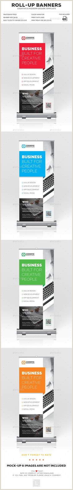 Pop Up Banner Mockup Psd 50 Best Roll Up Banners Images