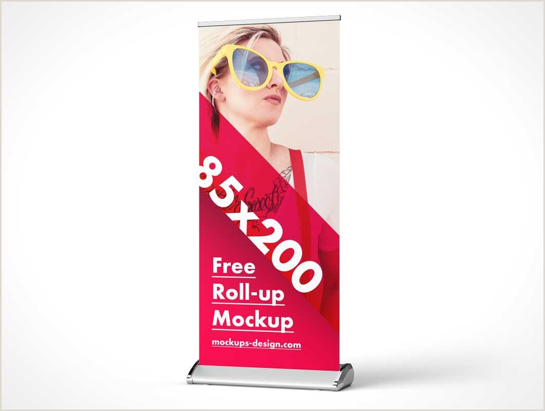 Pop Up Banner Mockup Psd Banner Psd Mockups