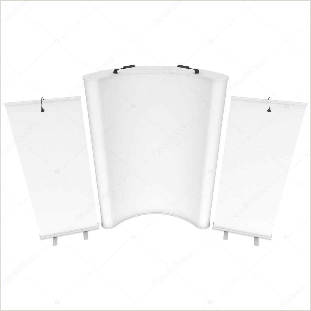 Pop Up Banner Parts Roll Up And Pop Up Banner Stands — Stock © Newb1