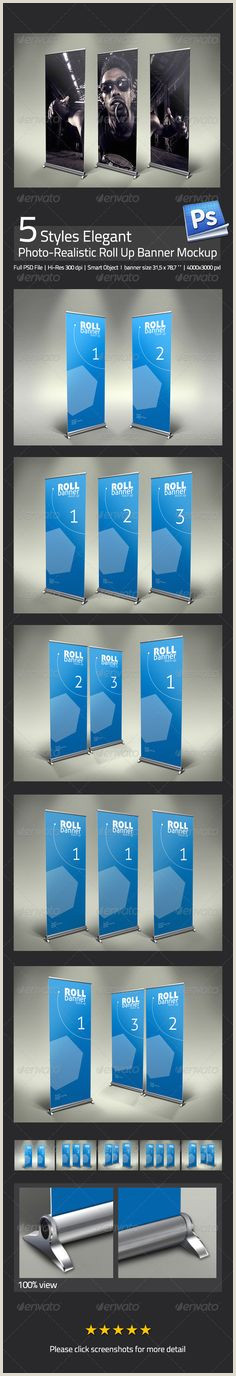 Pop Up Banner Template 30 Best Roll Up Banners Images