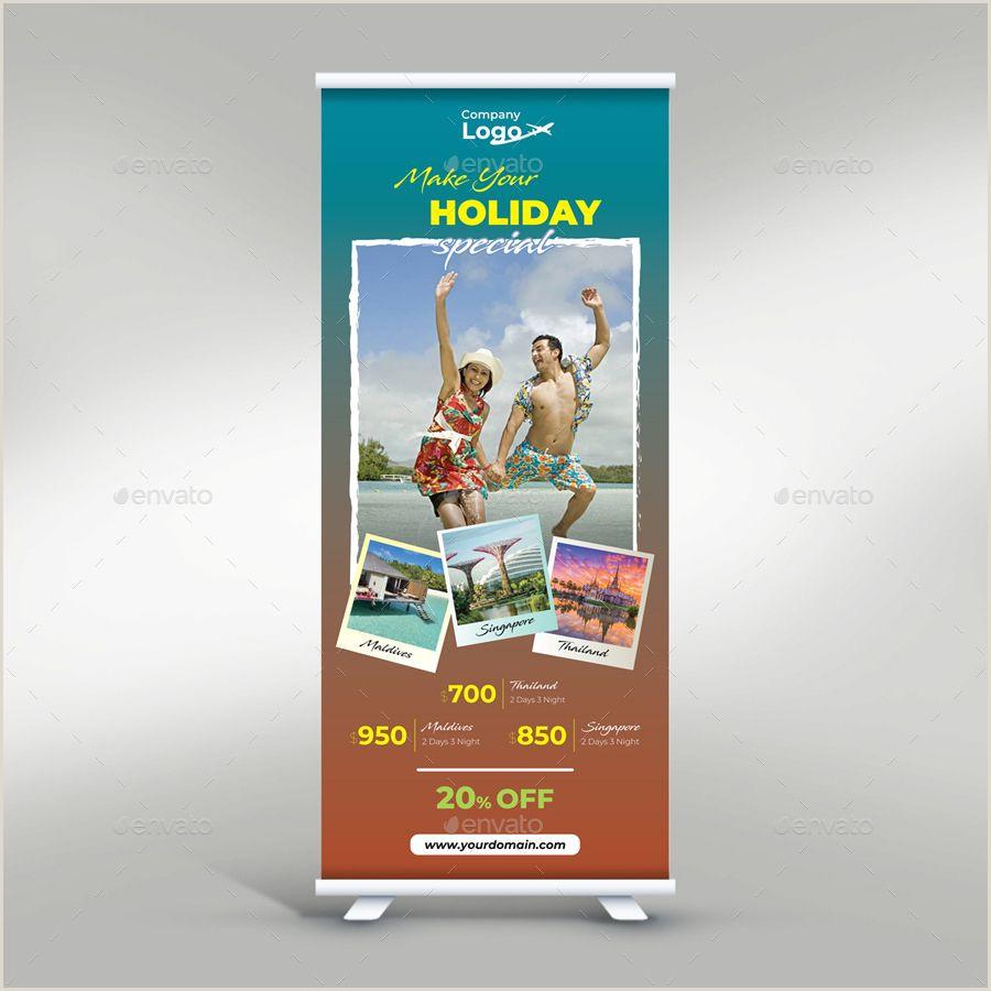 Pop Up Banner Template Travel Roll Up Banner