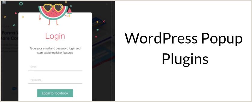 Pop Up Banner WordPress Plugin 10 Best WordPress Popup Plugins Pared In 2019 Slidedeck