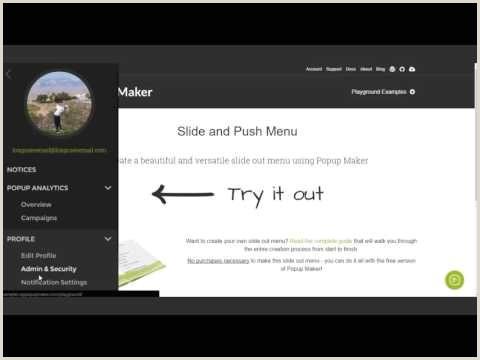 Pop Up Banner WordPress Plugin Slide Out Menu Creation Guide With Popup Maker Popup Maker