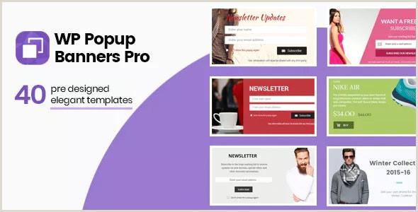Pop Up Banner WordPress Plugin Wp Popup Banners Pro Ultimate Popup Plugin For WordPress