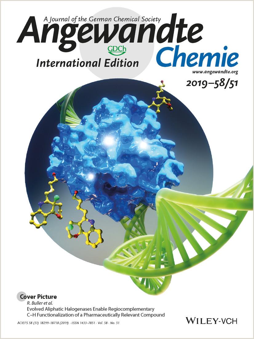 Pop Up Poster Display Angewandte Chemie International Edition Vol 58 No 51