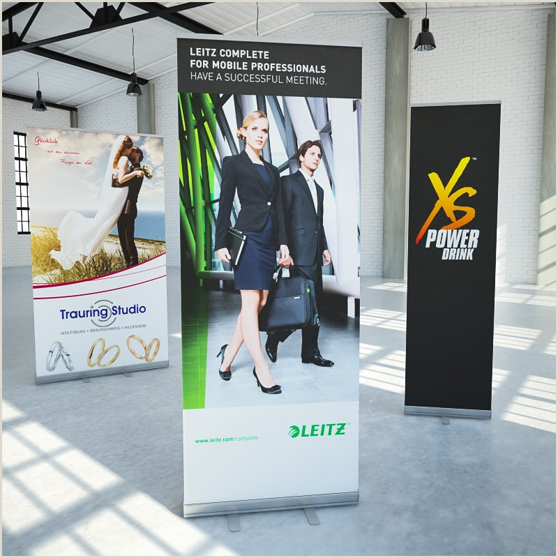 Pop Up Poster Display Roll Up Display Basic