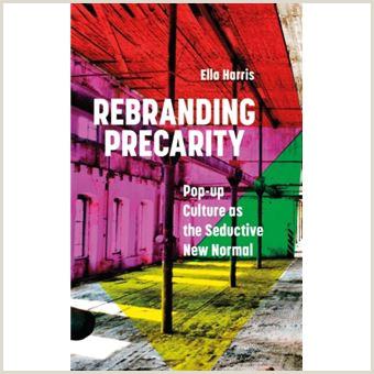 Pop Up Poster Rebranding Precarity